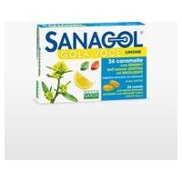 Sanagol- garganta voz- sabor limón