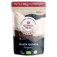 Gluten-free black royal quinoa