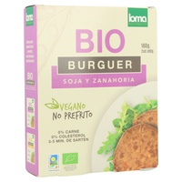Hamburguesa Vegetal de Soja Bio