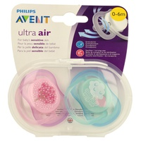 Ultra Air SCF343 / 20 pacifiers 0-6 months