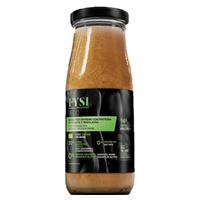 Organiczny napój z białka grochu i buraków po treningu