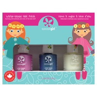 Mermaid Princess Nail Polish Kit for Children