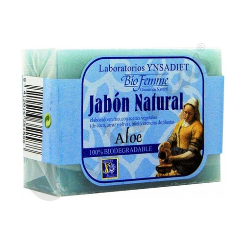Jabón de Aloe Vera Biofemme