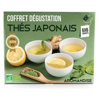 Coffret thés japonais en infusettes