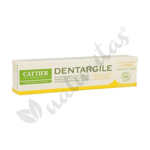 Dentífrico Dentargile Limón (Encias Irritadas) 75 ml de Cattier