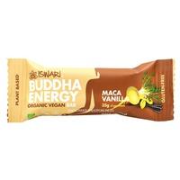 Organic and vegan buddha energy bar with maca and vanilla