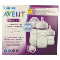 Philips avent set recién nacido cristal SCD303/01