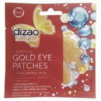 Hydrożelowe złote plastry pod oczy z kwasem hialuronowym