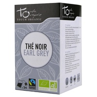 The Noir Earl Grey Arômes Bio