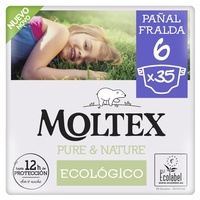 Moltex Pure & Nature T6 diapers (17-28 kg)