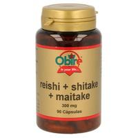 Reishi, Shitake, Maitake