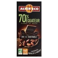Chocolate negro ecuador 70% bio