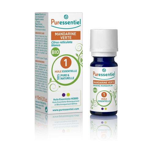 Aceite esencial de mandarina verde