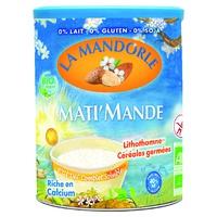 """Mati 'Mande Little breakfast almond milk with germinated cereals """"Fleur O germ"""" Bio"""