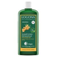 Shampoo reparador e cuidado de espinheiro mar