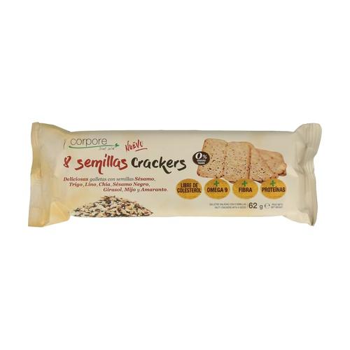 Crackers 8 semillas