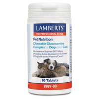 Pet Nutrition Glucosamine dogs and cats