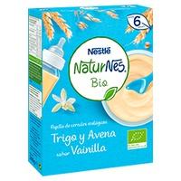Papilla de Cereales Trigo y Avena Bio (Sabor Vainilla)
