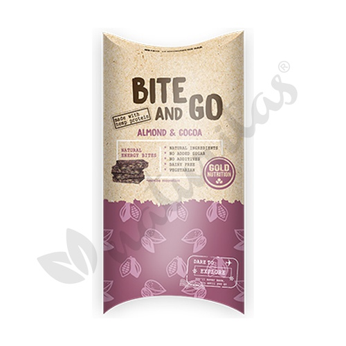 Bite and Go de Almendra y Cacao