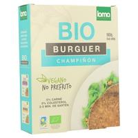 Burger de légumes aux champignons bio
