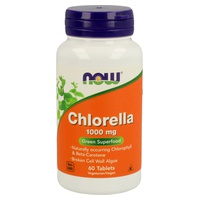 Chlorella 1000 mg Pared Celular Rota