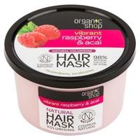 Maska zwiększająca objętość włosów z organiczną maliną i acai (bdih)