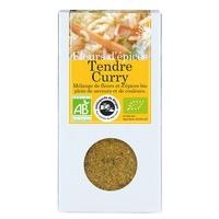 Fiori di spezie al curry tenero