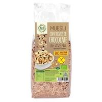 Muesli con Trozos de Chocolate de Avena Bio Sin Gluten