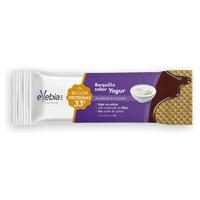Wafel z jogurtem białkowym