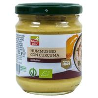 Hummus con curcuma