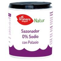 Sazonador 0% Sodio con Potasio