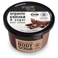 Organic Belgian Cocoa and Sugar Body Scrub