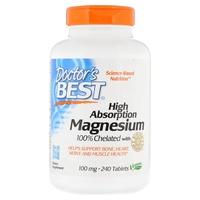 Magnesio de alta absorción 100 mg