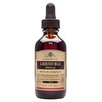 Liquid vitamin b12 with complex b