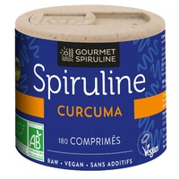 Spiruline Curcuma Pilulier