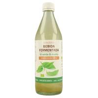 Bebida Fermentada de Té Verde y Menta
