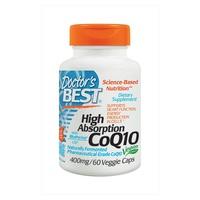 CoQ10 o wysokiej absorpcji z BioPerine, 400 mg