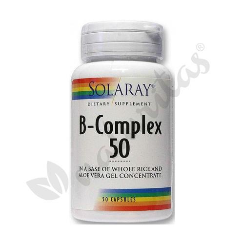 B Complex 50 50 cápsulas de Solaray - Kal