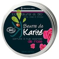 Manteca de karité con rosas