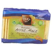 Tostadas de Arroz y Maíz sin gluten