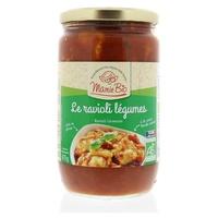 Ravioli com legumes