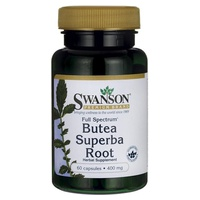 Korzeń Butea Superba o pełnym spektrum działania, 400 mg