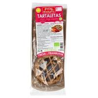 Tartaletas de Espelta con Fresa y Frambruesa Eco