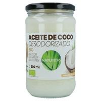 Óleo de coco desodorizado orgânico