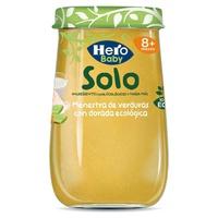 Hero Solo Tarrito Menestra de verduras con dorada ecológica