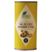 Sal de coco, jengibre y chili