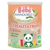 Cereales y frutas a partir de 6 meses Bio