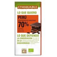 Dark Chocolate 7o% Peru Bio