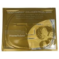 Mascarilla facial con colágeno Polvo de oro