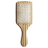 Cepillo plano de púas de madera